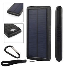 50000mah Solar Portable Power Bank Dual USB LED Battery Charger For Smart Phone