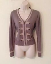 Woman's clip Cardigan Size med Medium By Cabi Multi Color
