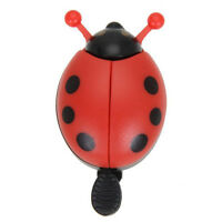Cute Kid Beetle Ladybug Ring Bell for Cycling Bicycle Bike Ride Horn Alarm 1 Pcs