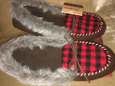 New Women's  Deadfoams Chalet Collection Slippers Memory Foam XL 11 27 cm