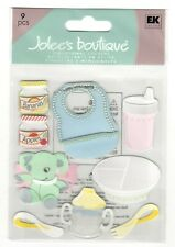 Jolee's Boutique Stickers BABY LEARNING TO EAT Dimensional Scrapbooking SD34