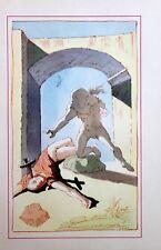 Salvador Dali Lithograph Illustration VIII  1948