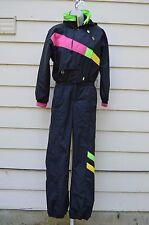Vtg Retro OBERMEYER Thinsulate Ski Snow Suit Full Body Ladies Womens sz 8    C5