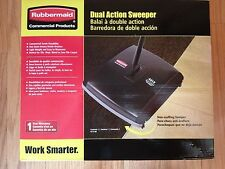 Lot of 2 Rubbermaid 4213-88 FG421388BL Dual Action Floor Sweepers DAMAGED BOXES