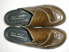 JOSEF SEIBEL COMFORT SUPPLE LEATHER MULE CLOG SIZE US 11 EUR 42 HOT RARE $129