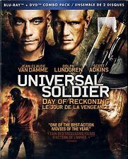 NEW BLU-RAY/DVD COMBO // UNIVERSAL SOLDIER // DAY OF RECKONING // VAN DAMME