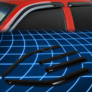 Tint Tape-on Window Visor Wind Sun Rain Deflector for 1993-1998 Golf/Jetta Mk3