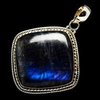 "Labradorite 925 Sterling Silver Pendants 2"" Ana Co Jewelry P711681F"
