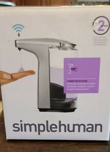 simplehuman® Compact Sensor Pump Soap Dispenser