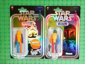 2021 Star Wars - Retro Prototype - Boba Fett & Stormtrooper - Yellow Body