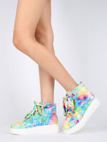 New Women Lace Up Platform High Top Sneaker - 18021 By Cape Robbin Collection