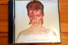 Mega Rare David Bowie Aladdin Sane EMI CDP7947682 10 Tracks 1990 Uk NM