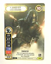 Star Wars Destiny Alternate Full Art Jango Fett Tournament Promo