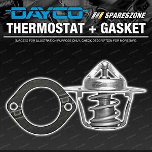 DAYCO Thermostat + Gasket for Ford Bronco 5.8L C 03 1981-12 1984 Temp 71