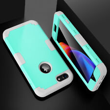 Hybrid Heavy Duty Shockproof Full-Body Protective Hard Case Cover For iPhone 7 8