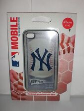 NEW YORK YANKEES MLB iPHONE 4-4S CASE HARDSHELL COVER NEW IN PACKAGE