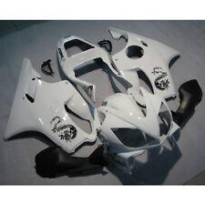 Verkleidung Lacksatz Weiß Fairing Bodywork Kit Für Honda CBR600F4I 2001-2003