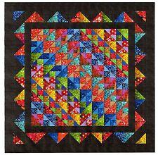 Quilt Kit/Brilliant Diamond Batiks/Pre-cut Fabric Ready 2 Sew/QN/EXPED ****