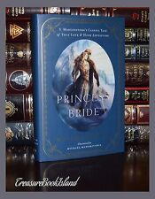 Princess Bride by W Goldman True Love Adventure Illustrated Hardcover 2 Day Ship
