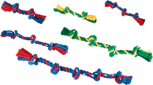 Dog Puppy Rope Cotton Plaited Dental Chew Tough Strong Play 6 Sizes Gor Tugs