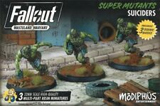 Fallout Wasteland Warfare Super Mutants Suiciders New