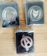 ILM show pin collection: Avengers, Iron Man I, II - Industrial Light & Magic