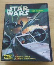 Vintage 1987 Star Wars Star Warriors Board Game