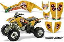 AMR Racing Honda TRX 400 EX Graphic Kit Wrap Quad Decal ATV 1999-2007 BALLER YLW