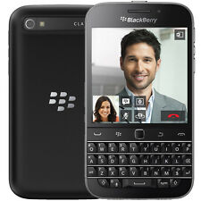 BlackBerry Classic Q20 16GB QWERTY Keyboard & Touchscreen Smartphone - Black