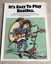 "PARTITIONS ""IT'S EASY TO PLAY BEATLES"" - 22 CHANSONS - PIANO/CHANT/GUITARE"