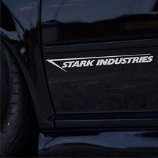2x Stark Industries 35cm Tuning Auto Aufkleber Seitenaufkleber JDM Sticker DUB