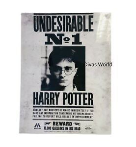Harry Potter Undesirable No.1 Ready Framed Mounted Canvas Print Paper Poster