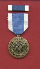 One full size UN United Nations medal for Special Mission with ribbon bar