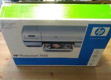 HP Photosmart 7450 Digital Photo Inkjet USB Printer NEW IN OPENED  BOX
