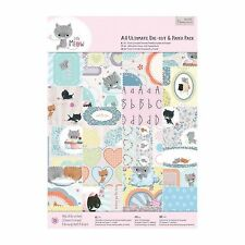 A4 ULTIMATE PAPER & DIE CUT PACK - Little Meow Collection  - DOCRAFTS
