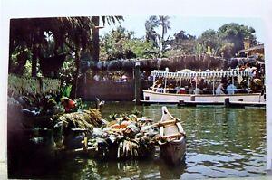 Disneyland Adventureland Tropical Dock Passengers Postcard Old Vintage Card View