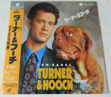 Turner & Hooch (Tom Hanks) - Authentic Japanese Laser Disc + OBI Strip - RARE