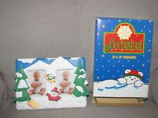 Dayton Hudson Marshall Fields Field'S Santabear Santa Bear Xmas Photo Frame New