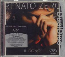 """RENATO ZERO """" IL DONO (DUAL DISC) """" CD SIGILLATO 2005  TATTICA"""