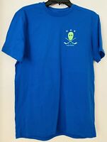 Under Armour Men's Hockey Logo Charged Cotton Blue T-Shirt Size SM/P/P Loose NWT