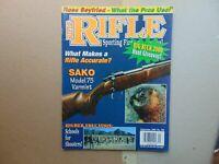 RIFLE SPORTING FIREARMS JOURNAL SAKO Model 75  Sept 1999