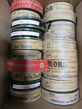 Lot of 20 VINTAGE 35MM  Color TRAILERS -  ENGLISH LANGUAGE-VS TRAILERS. Lot #3