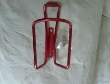 SPECIALIZED ALLOY WATER BOTTLE CAGE. CHERRY RED . NEW.