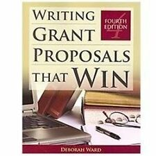 Writing Grant Proposals That Win by Deborah Ward (2011, Paperback)