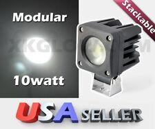 Modular Stackable 10 watt Flood Mowing LED Work Light 12-24V Bright Low Profile