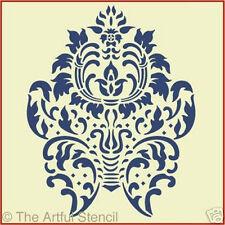 DAMASK 4  STENCIL  - LARGE - The Artful Stencil