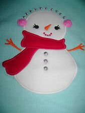 NWT Gymboree Cozy Cutie snowman ruffled sweater snow lady girls holiday 7 8 SALE