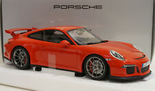 MINICHAMPS 2013 PORSCHE 911 / 991 GT3 RED 1:18 Rare Dealer Edition*Last One!!