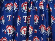 "Texas Rangers Baseball Sports Handmade Valance  56 1/2"" x 12 1/2"""