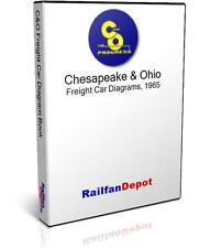 C&O Freight Car Diagrams - PDF on CD - RailfanDepot